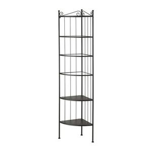 RONNSKAR Corner shelf unit, black,901.925.80