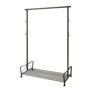 PORTIS Clothes rack, black(119*60cm)