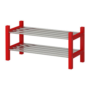 TJUSIG Shoe rack, red,당일발송