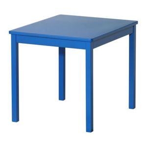 KRITTER Children's table, blue,당일발송
