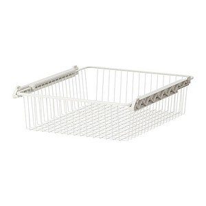 STUVA GRUNDLIG Wire basket, white