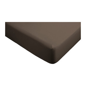 GASPA Fitted sheet, brown,당일발송