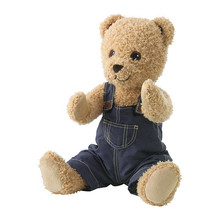 BRUMMA Soft toy with clothes, bear
